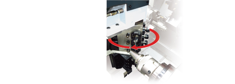 Gantry Tooling B-Axis Free angle Tilting drilling and tapping